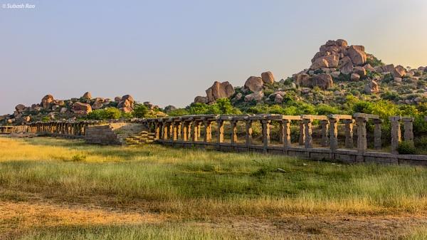 Ruins of Hampi by subashcr