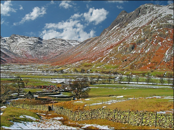 Lake District Winter Scene by mudge