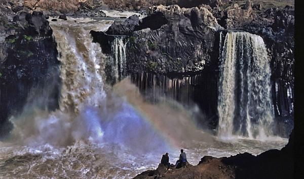 Aldeyjar Waterfall, Iceland by lonely_oryx