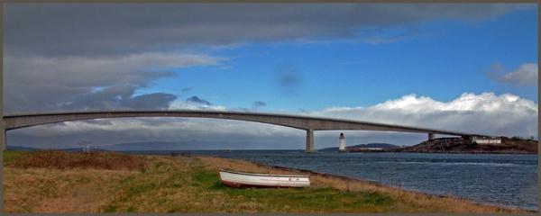 Skye Bridge Panorama by freestyle