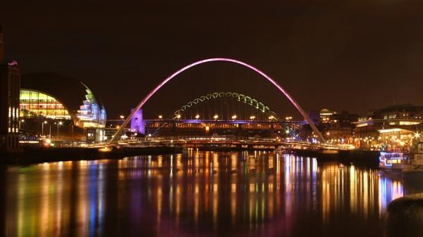 Colourful Tyne by Sheddy