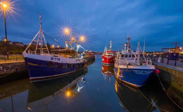Fishing Fleet by icphoto