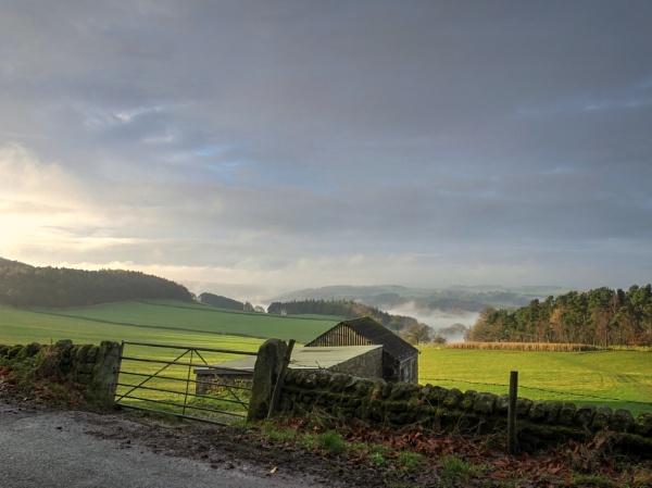Stanton Moor Morning by ianmoorcroft