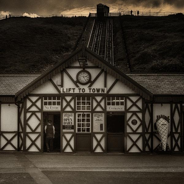 Saltburn - lift to the town by judidicks