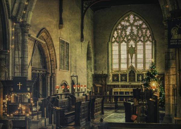 Sileby Church Nativity by RLF