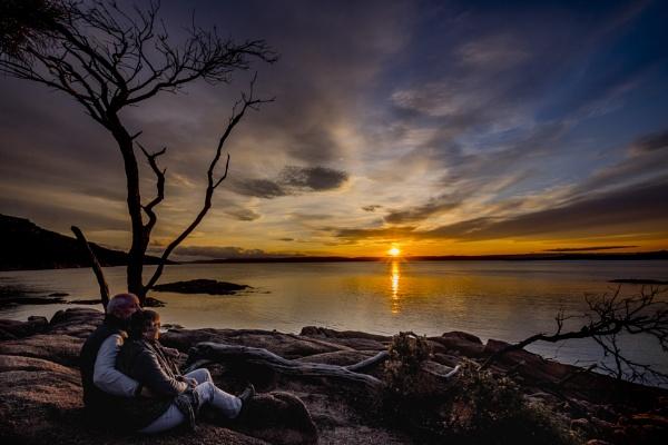 Honeymoon Bay, Tasmania Australia by petach