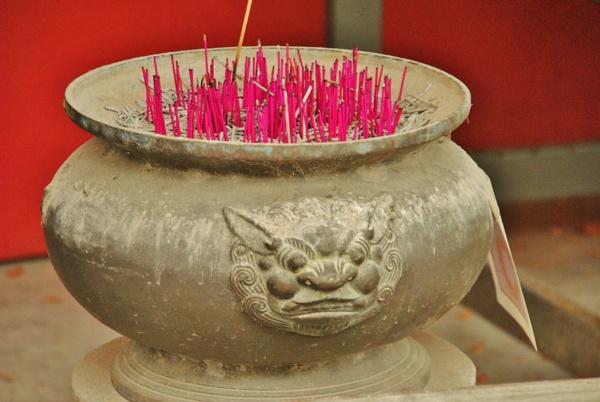 Thai Incense Pots by Chinga