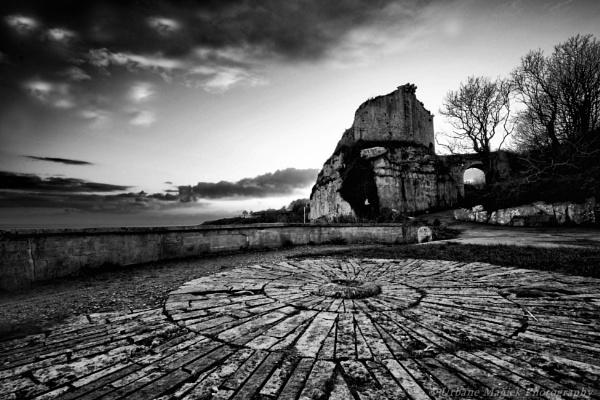Rufus Castle, Portland, Dorset. by UrbaneMagick