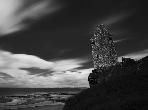 Greenham Tower, Ayrshire coast by Coracre