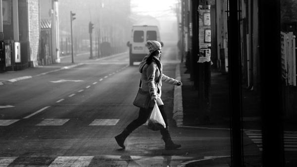 Urban Scene XLV by MileJanjic