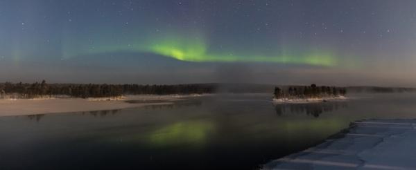 Winter Lake Inari by Legend147