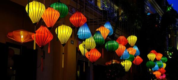 Lanterns In Hoi An Vietnam by Stiobhan