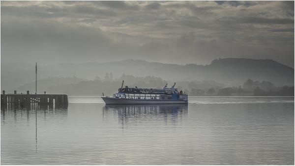 Misty Morning Cruise by Leedslass1