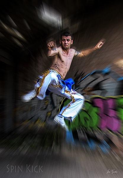 Spin Kick by jimgordon666