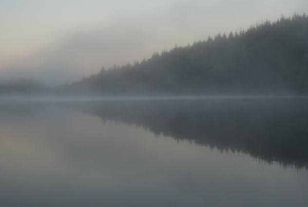 Misty Loch by SocksAndStuff