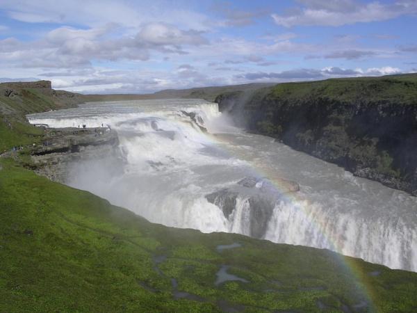 Gullfoss, Iceland by scotsjerry