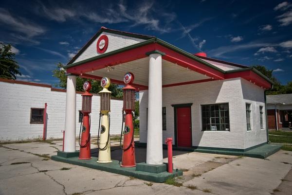 Mother Road XLI - Afton Gas Station, OK by Stephen_B