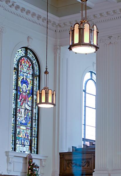 inside Hamilton\'s Central Presbyterian Church by TimothyDMorton