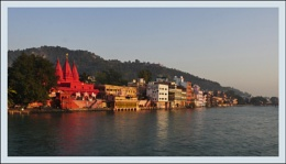 Morning in Haridwar