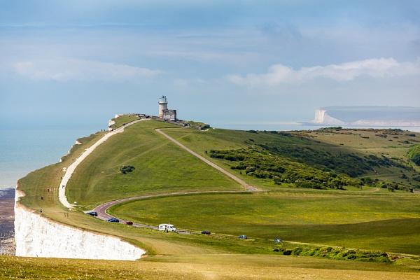 The Belle Toute Lighthouse near Beachey Head by Phil_Bird