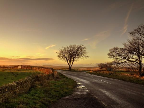 Shortest Day Sunset by ianmoorcroft