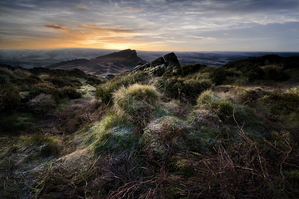 Dawn on the Roaches by DaveShandley