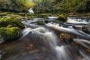 West Burton Falls by Philo