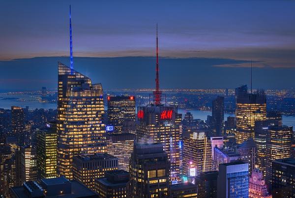 New York by Night by BydoR9