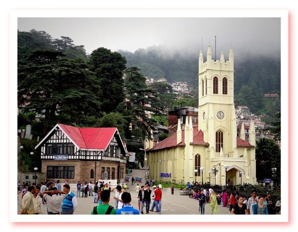 Chirst Church Shimla [India] by Bantu