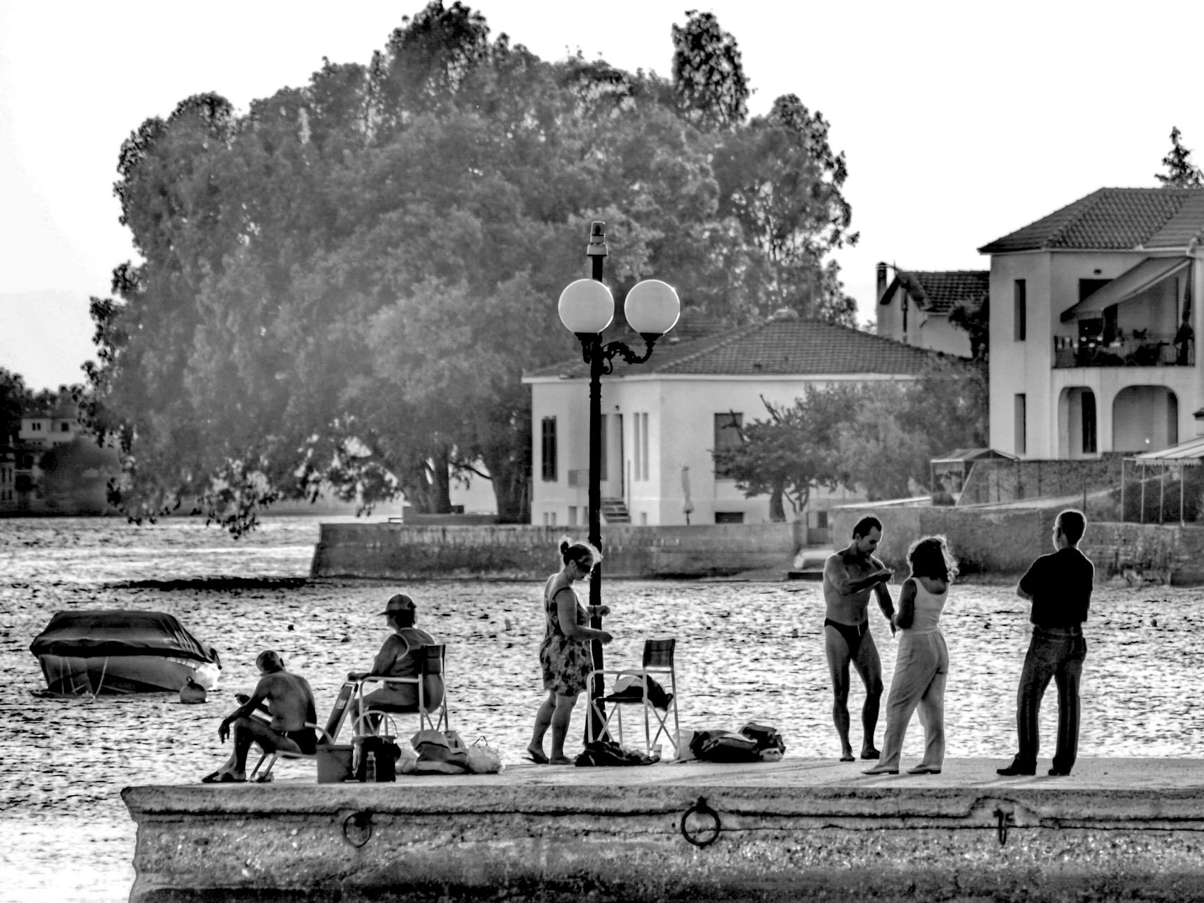 The magic hour in Pagaseetikos gulf