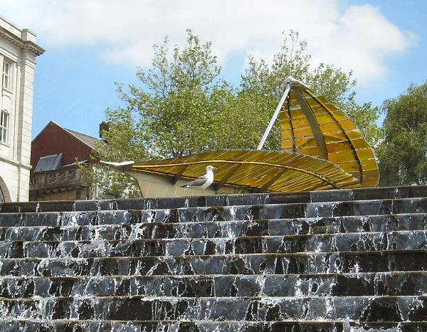 Leaf Boat, Swansea by HerefordAnn