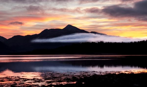 Loch Awe Sunset by hsreid