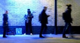 Saxophone Busker (2)