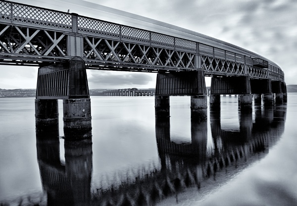 Bridge Reflections by scrimmy