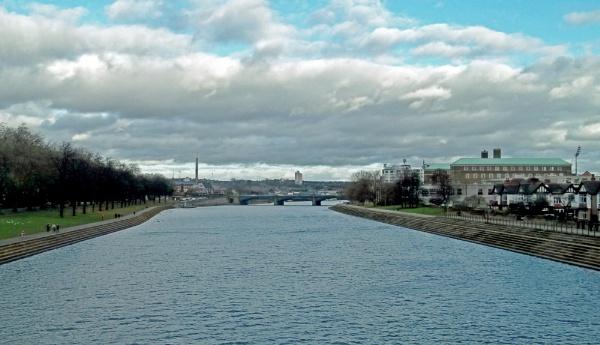 Seasons Greetings from Trent Bridge, Nottingham by Hurstbourne