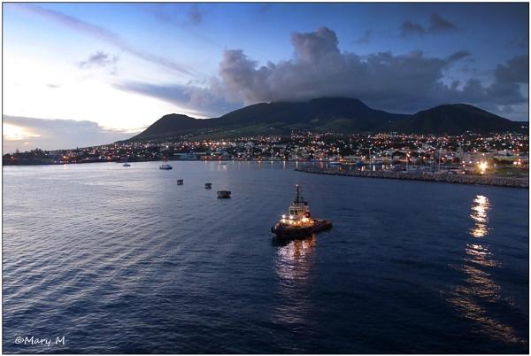 St Kitts at Dusk by marshfam19