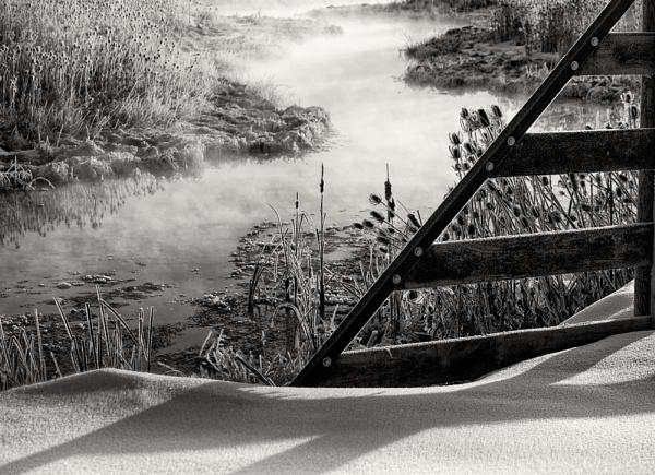 Winter Gate by mlseawell