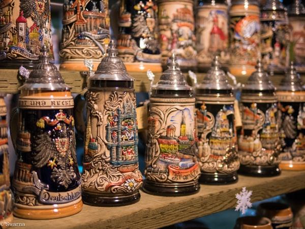German Pots - Vancouver Christmas Market 2016 by Swarnadip