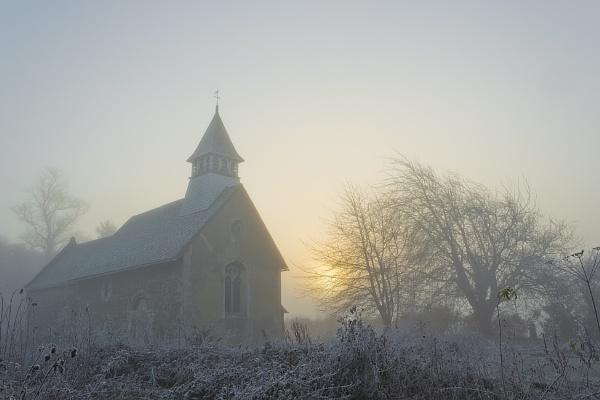 misty morning by DCox