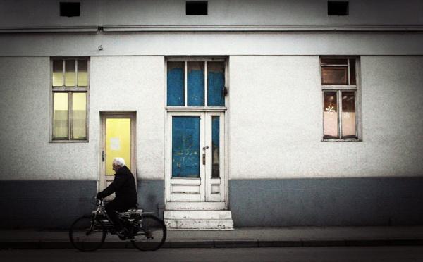 Urban Scene LI by MileJanjic