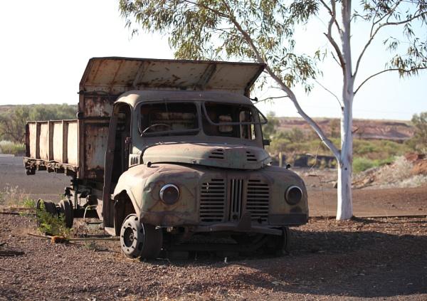 Old mining truck. by Kerro