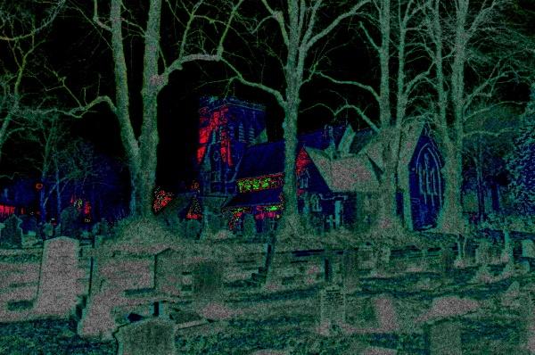 Spooky Church by Kako