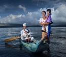 Balinese family by Rarindra