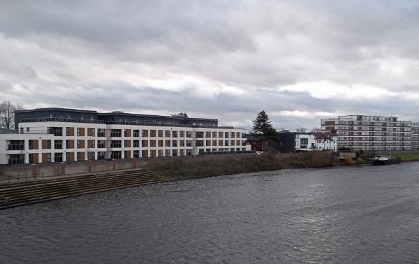 Contrasting Architecrural Facades by Hurstbourne