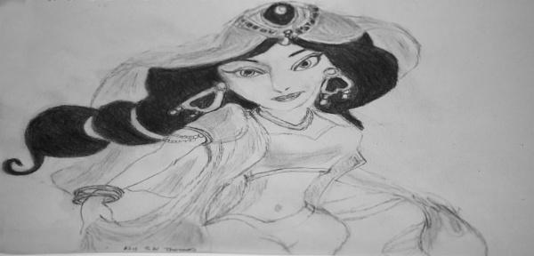 Princess Jasmine by sparrowhawk