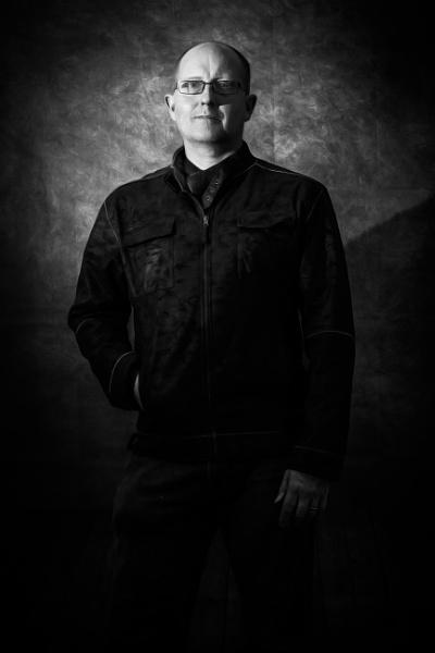 Selfie in Black & White by JackAllTog