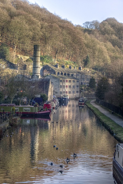 Hebden Bridge by Ian G W