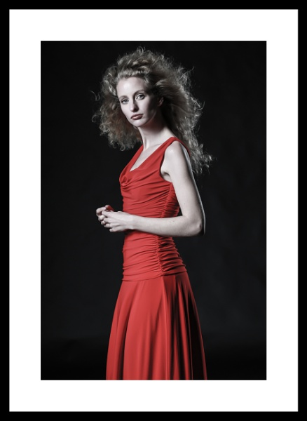 lady in red by 6x4_photography