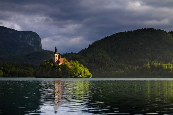 Lake Bled by PaulSwinney
