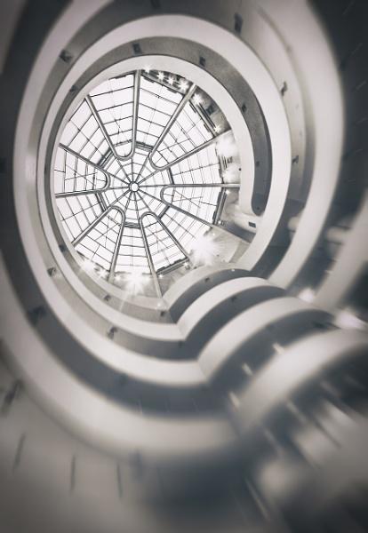 Guggenheim Atrium by BydoR9